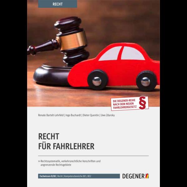 Artikel-Nr. 23805 - Recht für Fahrlehrer